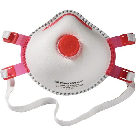 PROMAT Atemschutzmaske Atemschutzmaske Snake · FFP3/V FFP3R V mit Ausatemventil