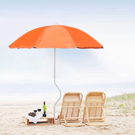 PROMETHEUS GiraFacile® 180cm Beach Umbrella with UV Protection