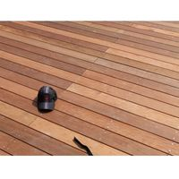 PROMO : Lame de Terrasse Bois Exotique ITAUBA Lisse 21x145 en 1.25m