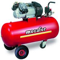 Promo Mecafer - Compresseur coaxial v lubrifié 100L 3Hp 9 bar + kit Gonflage OFFERT - TWENTY