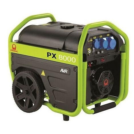Promo Pramac - Groupe électrogène essence 5,4kW 230V - PX8000