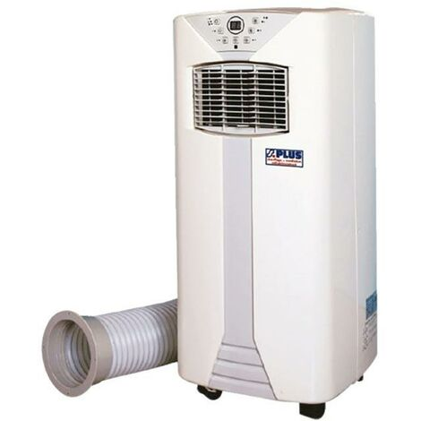 Promo Splus - Climatiseur Mobile Electrique 900W 2300/8000 W/BTU 2 vitesses jusqu'à 30 m² - CM 25 T.1