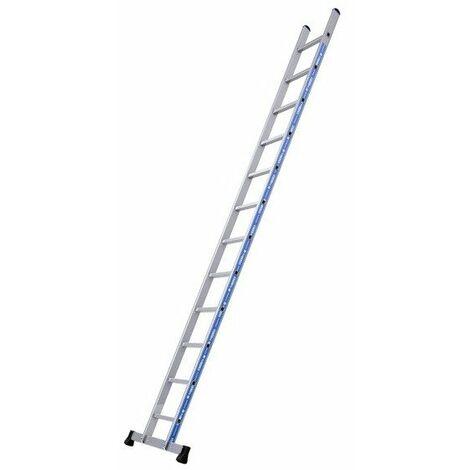 Promo Tubesca - Echelle simple Alu 12 échelons Hauteur accès 4,43 m max. - PLATINIUM DROITE