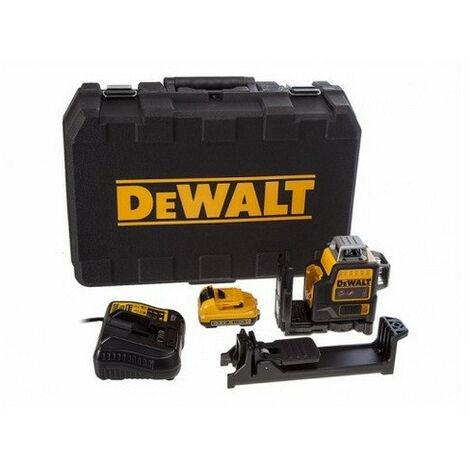 """main image of """"Promotion - DeWalt - Niveau laser ligne 10,8V 2Ah Li-Ion 2x360° - DCE0811D1R"""""""