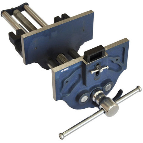 Promotion - Dolex - Etau presse à serrage rapide 225 mm ouverture 340 mm base fixe pour menuisier 249SR