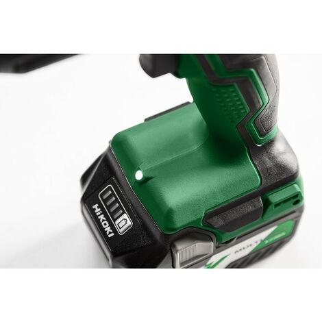 Promotion - Hitachi - Hikoki - Perceuse-visseuse à choc sans fil 18V 55 Nm avec 2 batteries 3Ah Li-Ion dans un coffret HSC II - DV18DDWQZ