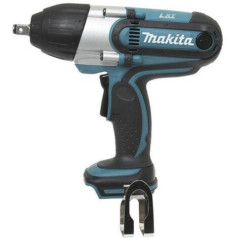 Promotion - Makita - Boulonneuse à chocs 18 V Li-Ion 440 Nm sans batterie ni chargeur - DTW450Z