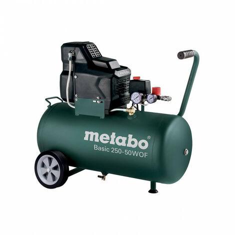 Promotion - Metabo - Compresseur basic 1.5 kW 8 bar 120 l/min cuve 50 l - Basic 250-50 W OF