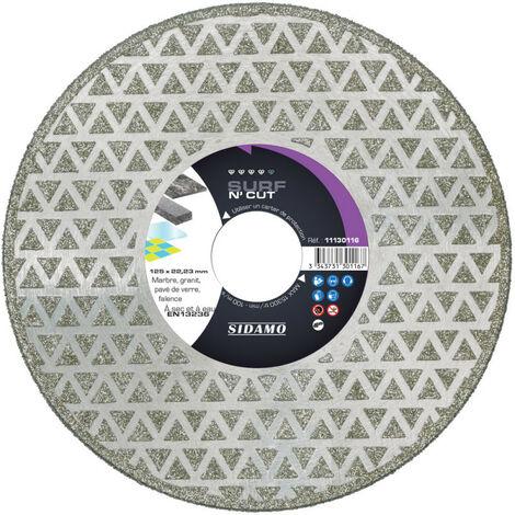 Promotion -Sidamo - Disque Diamant Surf N' Cut - D. 125 X 22,23 X H 3