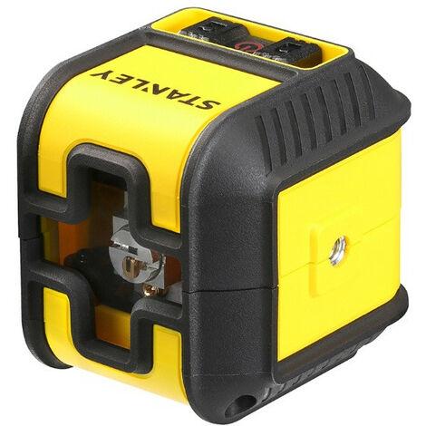 Promotion -Stanley - Niveau Laser croix rouge Portée jusqu'à 12 m Cubix - STHT77498-1
