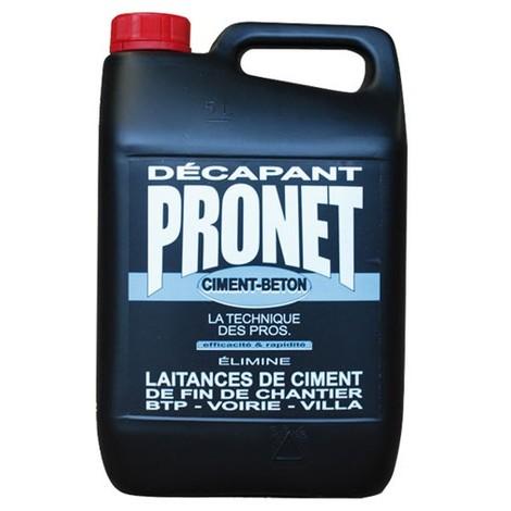 PRONET - Décapant ciment béton - 5 L