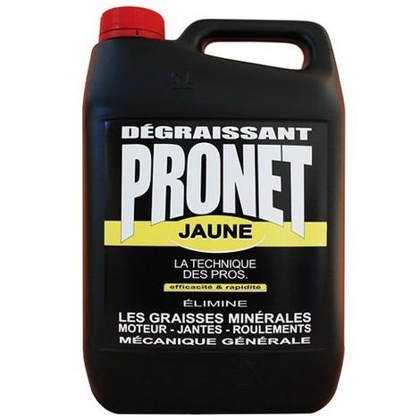 PRONET - Dégraissant jaune mécanique - 5 L