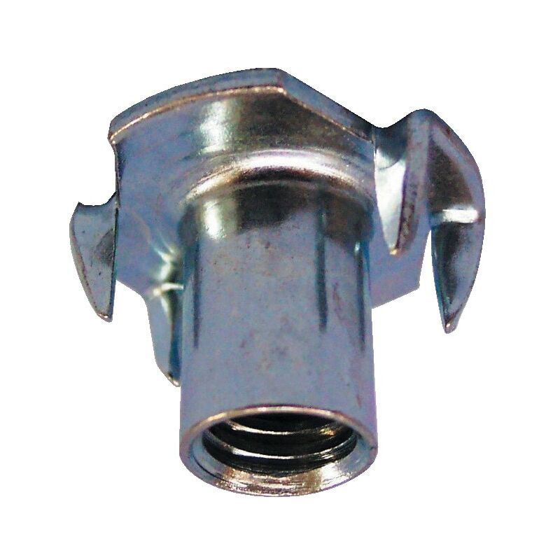 Image of M6X9MM 4 Pronged T-Nut BZP- you get 10 - Fabory