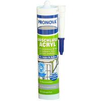 Pronova Anschluss-Acryl 300 ml Weiß