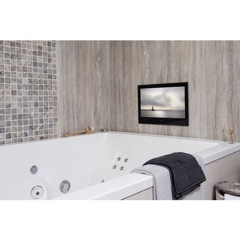 "ProofVision 24"" Waterproof Bathroom TV - Black"