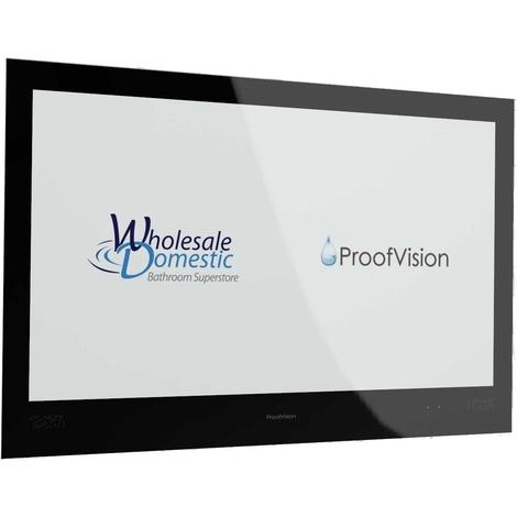 "ProofVision Premium Black 32"" Waterproof Bathroom Television"