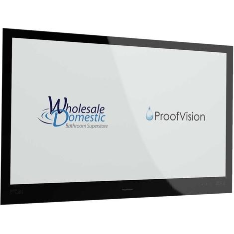 "ProofVision Premium Black 43"" Waterproof Bathroom Television"