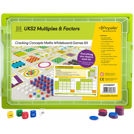 Propeller® UKS2 Cracking Multiples & Factors Pack of 20
