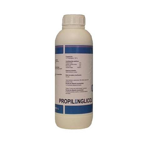 PROPILENGLlCOL USP (acetonemia y convalecencia de cetosis) - 1L