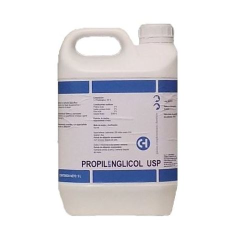 PROPILENGLlCOL USP (acetonemia y convalecencia de cetosis) - 5L