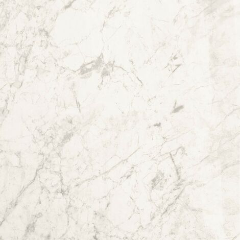 Proplas White Marble 250mm x 2700mm x 8mm Wall & Bathroom Panelling (Pack of 4)
