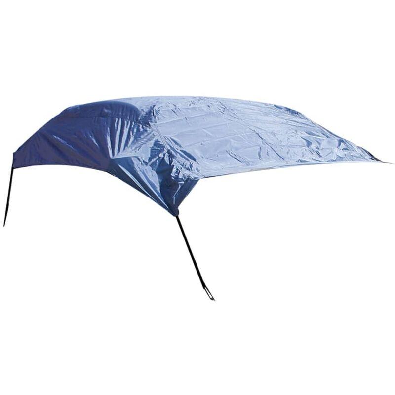 True Deal - ProPlus Housse de toit de voiture L 315x122x60 cm Bleu foncé