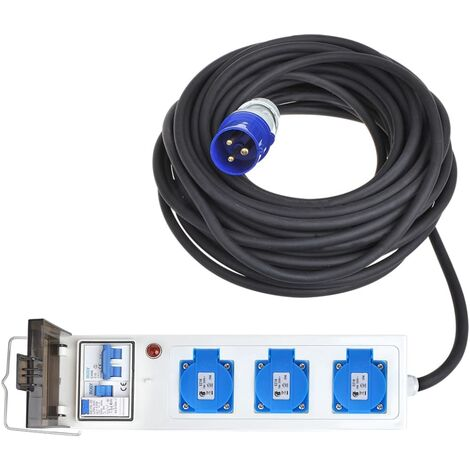 ProPlus Unidad eléctrica para tienda de campaña/remolque 10 m 3xSchuko