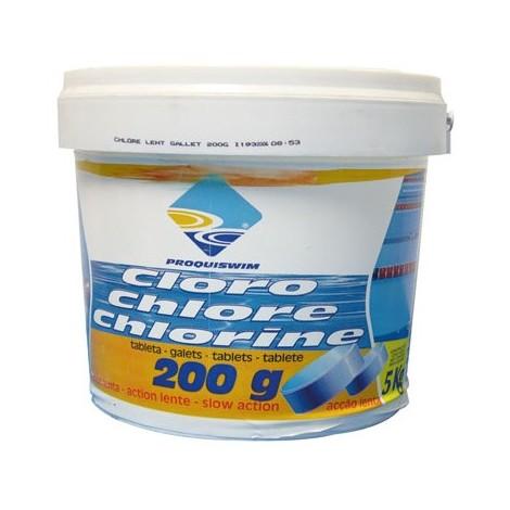 PROQUISWIM - Galet chlore lent - 5 Kg
