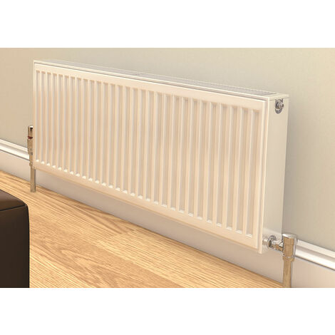 Prorad By Stelrad Type 21 Double Panel Single Convector Radiator 400mm H x 500mm W - 489 Watts