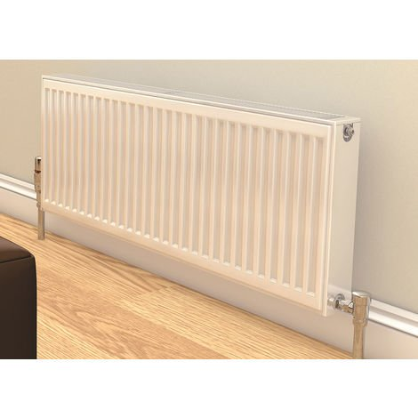 Prorad By Stelrad Type 21 Double Panel Single Convector Radiator 600mm H x 1400mm W - 1907 Watts