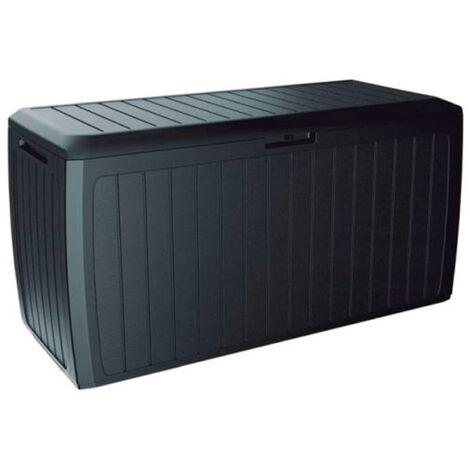 PROSPERPLAST Boîte à jardin 290L plastique anthracite Boxe Board 116,6 x 43,8 x 59,5 cm