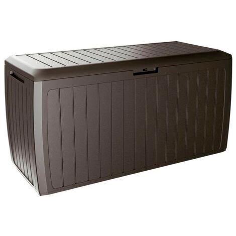 PROSPERPLAST Boîte à jardin 290L plastique ocre foncé Boxe Board 116,6 x 47 x 59,5 cm