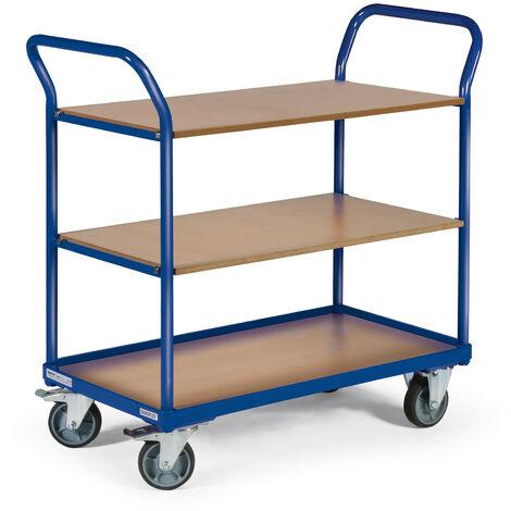 protaurus etagenwagen f250 mit 2 schiebegriffen und 3. Black Bedroom Furniture Sets. Home Design Ideas