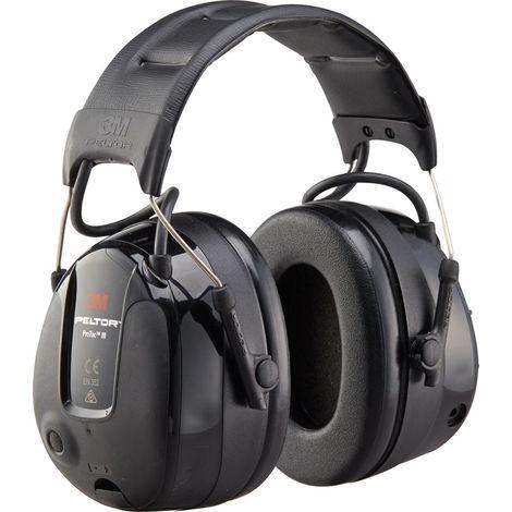 Protección auditiva Peltor ProTac 3, negro