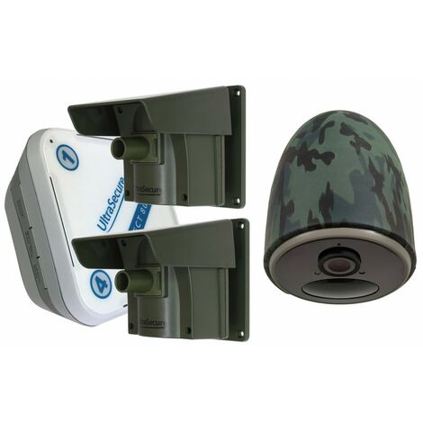 Protect 800 Driveway Alarm System with 2 x PIR's & 1 x 4G Battery Camera Kit [014-0500]