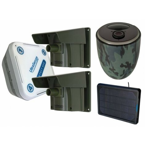 Protect 800 Driveway Alarm System with 2 x PIR's & 1 x 4G Solar Camera Kit [014-0510]