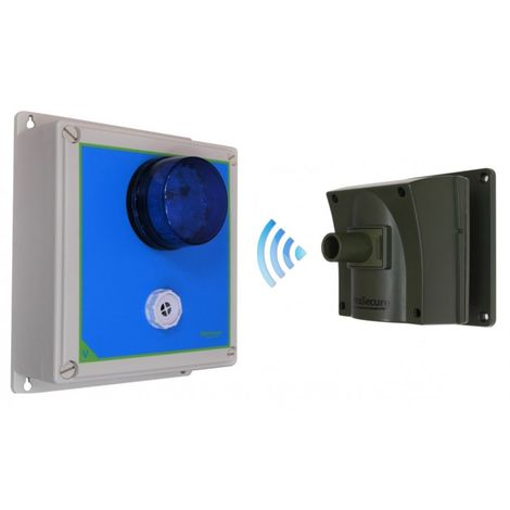 Protect 800 Driveway Alarm with Outdoor Adjustable Siren & Flashing LED Receiver [006-3280]
