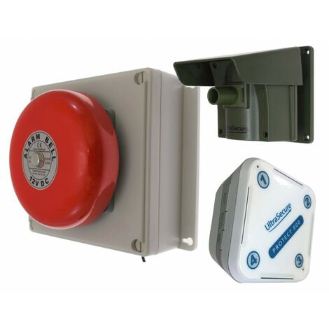 Protect 800 Driveway Alert (with new multiple lens) with Outdoor Bell Receiver & Indoor Receiver [004-4200]
