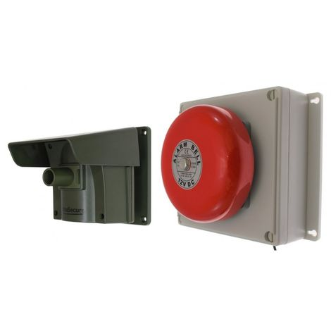 Protect 800 Driveway Alert with Outdoor Bell Receiver & PIR with New Pencil Beam. [004-4170]
