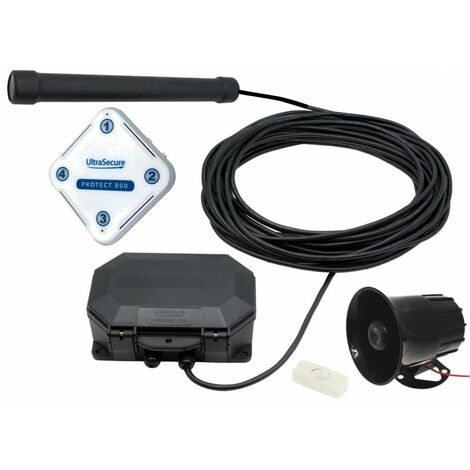 Protect 800 Wireless Vehicle Detecting Driveway Alarm with Loud Siren [004-4450]