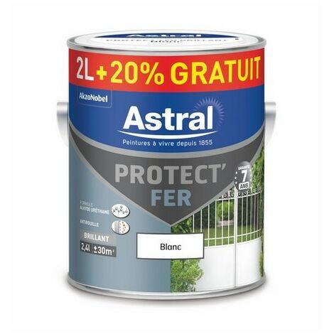Protect' Fer brillant rouge basque 2L+0.4L gratuit