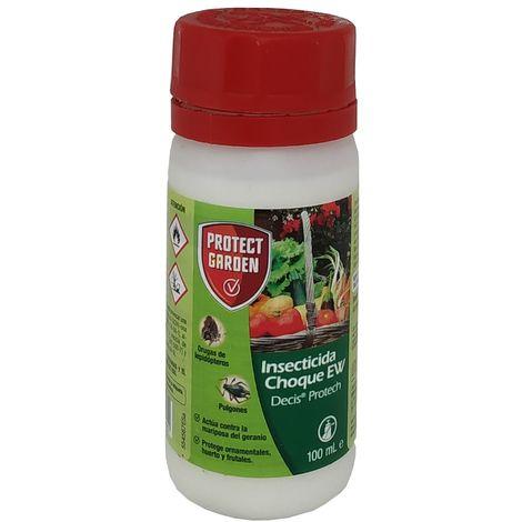 Protect Garden Insecticida Choque EW (Decis Protech) Protección Ornamentales, Huertos y Frutales - Caja 20 x 100 ml