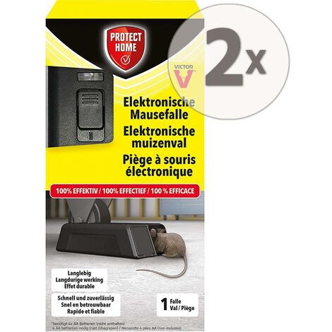 Protect Home Elektronische Mausefalle 2 Stück