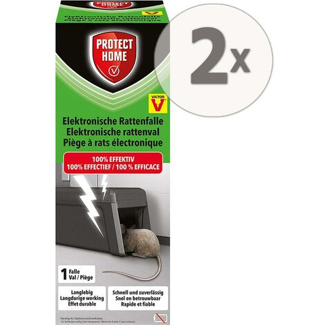Protect Home Elektronische Rattenfalle 2 Stück
