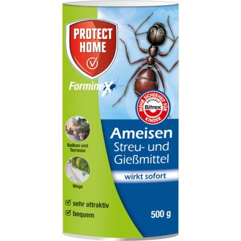 Protect Home FormineX Ameisen Streu- und Gießmittel 500 g für 62,5 m²