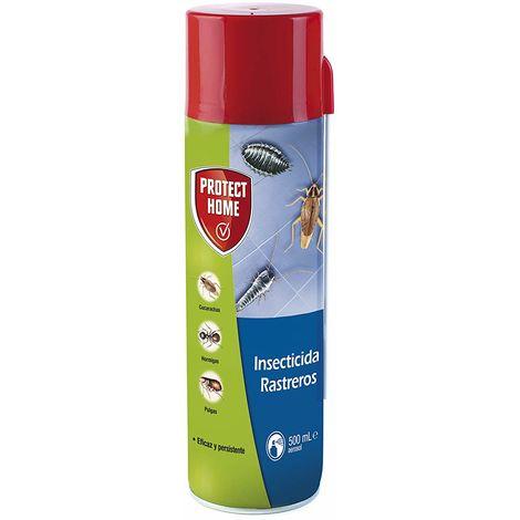 Protect Home Insecticida Blattanex, Uso Doméstico de Acción Inmediata contra Cucarachas, Hormigas E Insectos Rastreros Domésticos - Spray 500ml