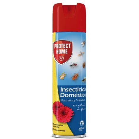 PROTECT HOME Insecticida Doméstico para el Control de Insectos voladores y Rastreros.