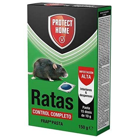Protect Home Ratas Frap Pasta, Interiores y Despensas, 15 x 10 gr (150 gr)