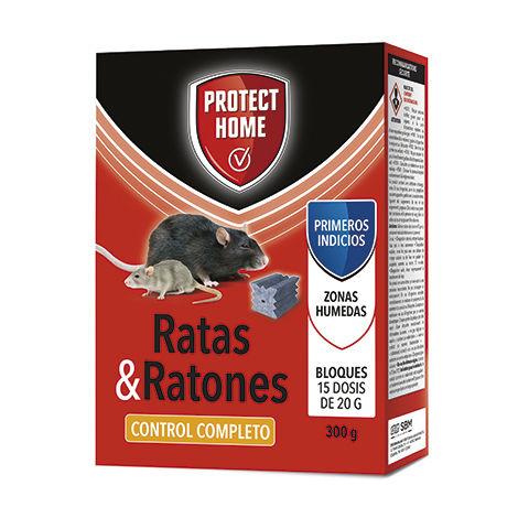 Protect Home Raticida en Bloques 300 gr
