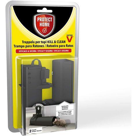 PROTECT HOME Trampa Uso Limpio Ratón KILL & CLEAN - Envase 2 uds.